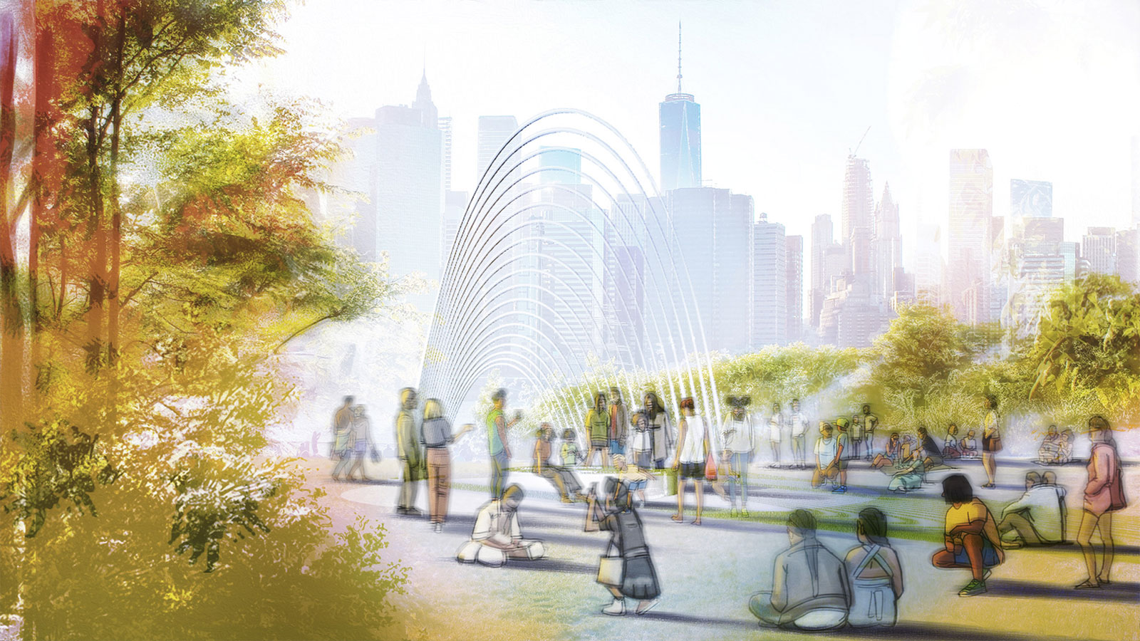The Wave will feature in New York in autumn 2021.