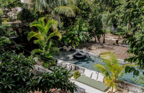 A boutique Tulum hotel hits the market – and it comes with its own heliport