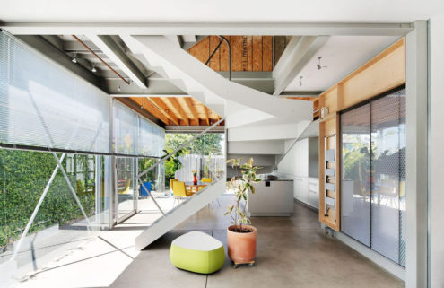The award-winning Y House is up for sale in Los Angeles's Venice