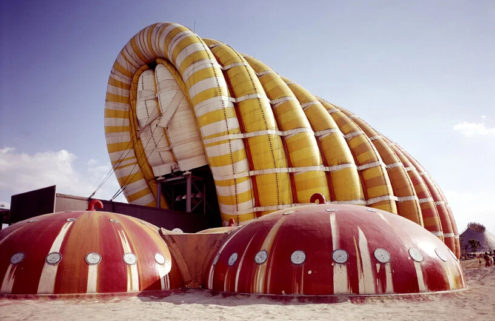 Discover the history of inflatable architecture at the Centre Pompidou-Metz