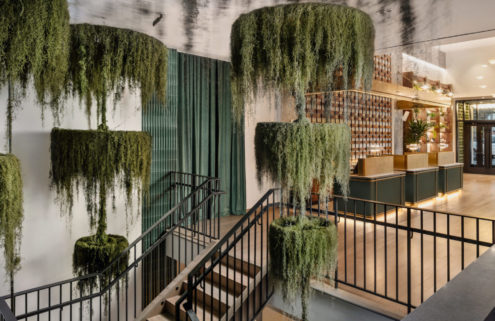 The new Arlo Midtown is a Manhattan hotel with tropical vibes