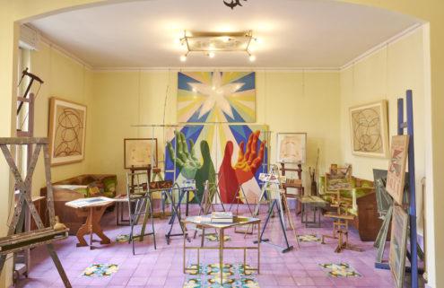 Giacomo Balla's vividly colourful home is now open to the public