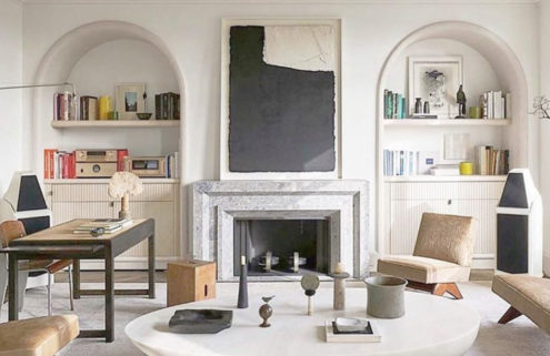 Tour the homes of creatives in France on Pinterest