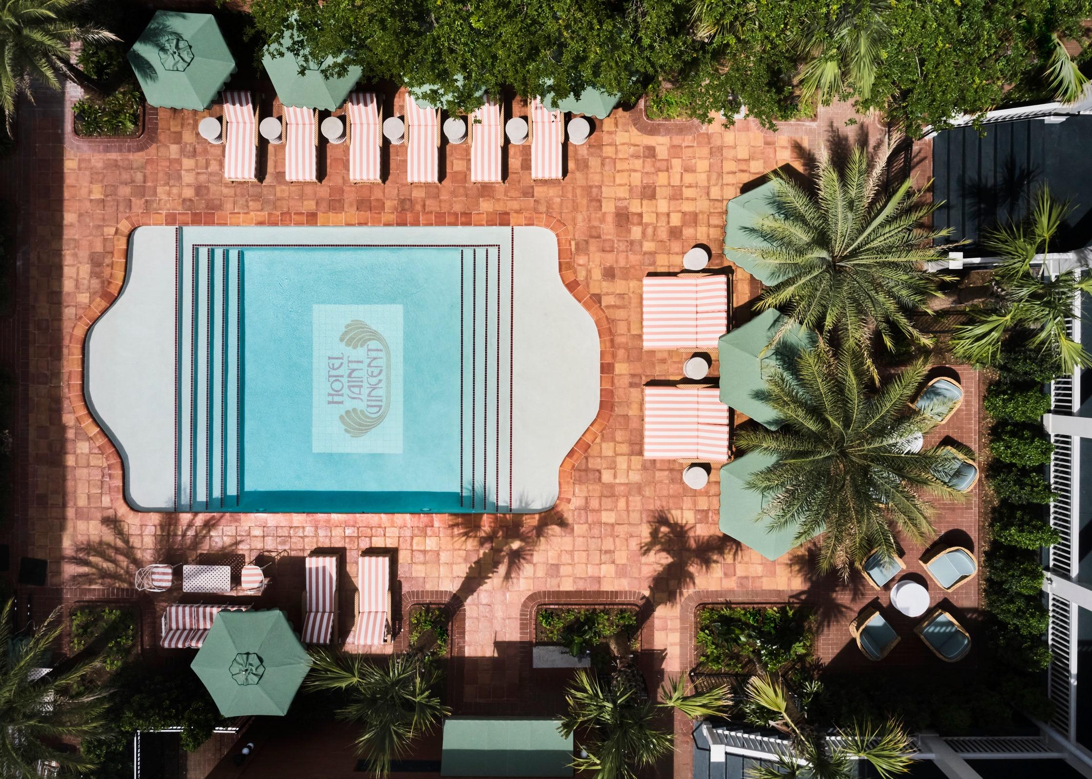 Hotel Saint Vincent pool