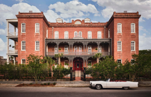 New Orleans' Hotel Saint Vincent takes guests on a trip with its whirlwind interiors