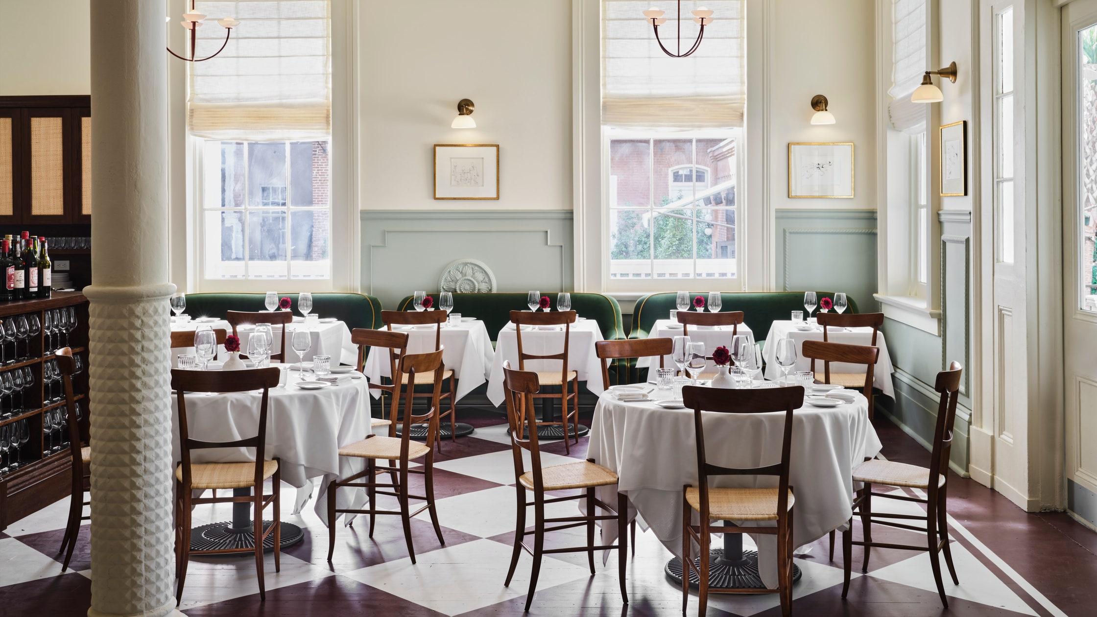 Hotel Saint Vincent's restaurant