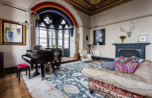 Rare St Pancras clocktower apartment is for sale
