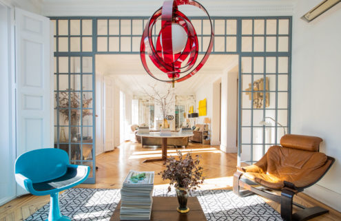 Five character-filled properties for sale in Madrid