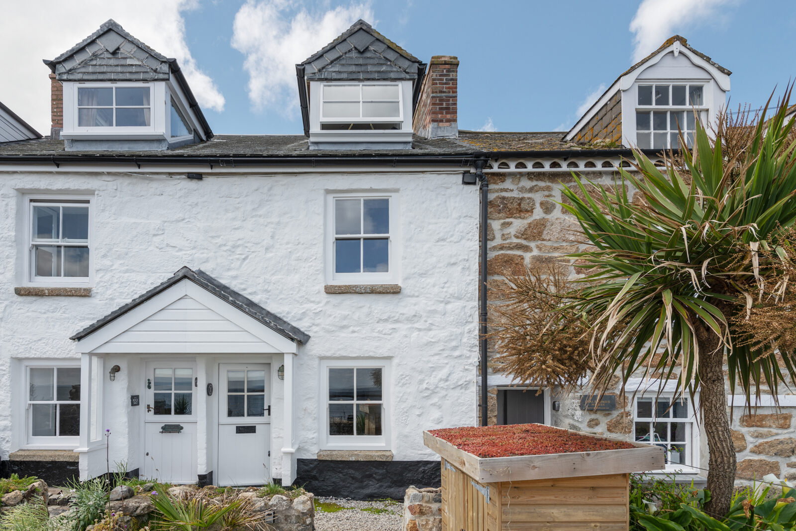 The fisherman's cottage in Mousehole, Cornwall