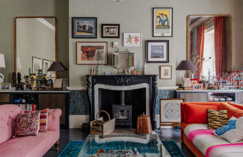 Maximalist Bath townhouse lists for £2.75m
