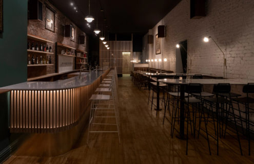 Montreal wine bar Stem finds beauty in what's left behind