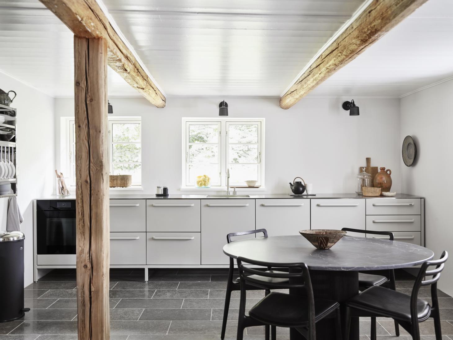 Vipp Farmhouse's minimalist kitchen