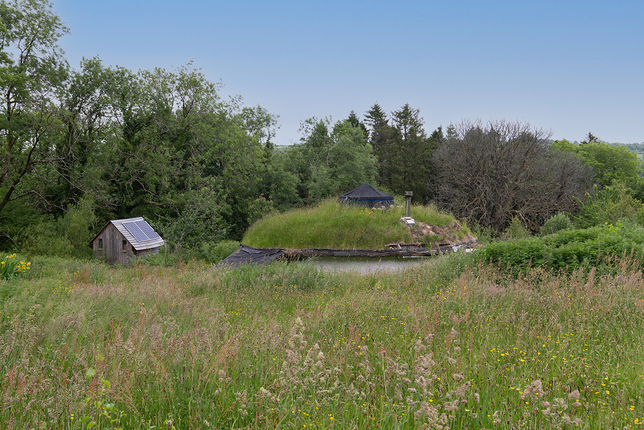 Pembrokeshire 'Hobbit house' offers eco-living for £335k