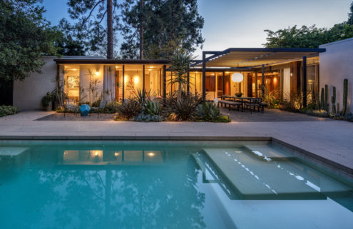 Revamped Robert Skinner home lists for a cool $9m in Beverly Hills