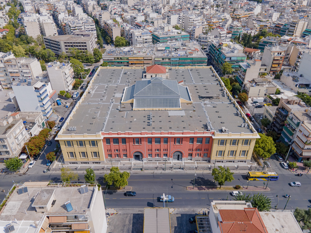 Public Tobacco Factory in Athens - a new culture hub