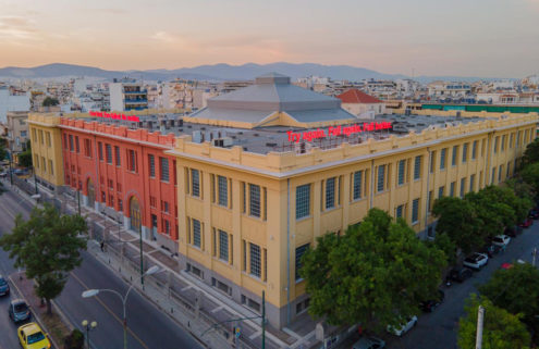 An old tobacco factory finds new life as an arts hub in Athens