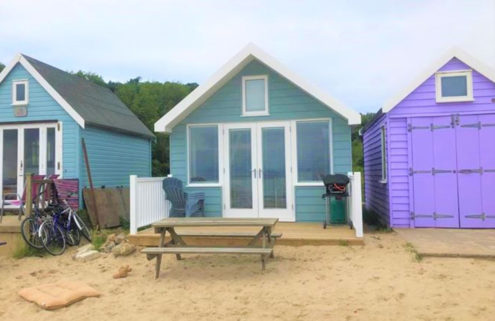 Britain's most expensive beach hut lists in Dorset