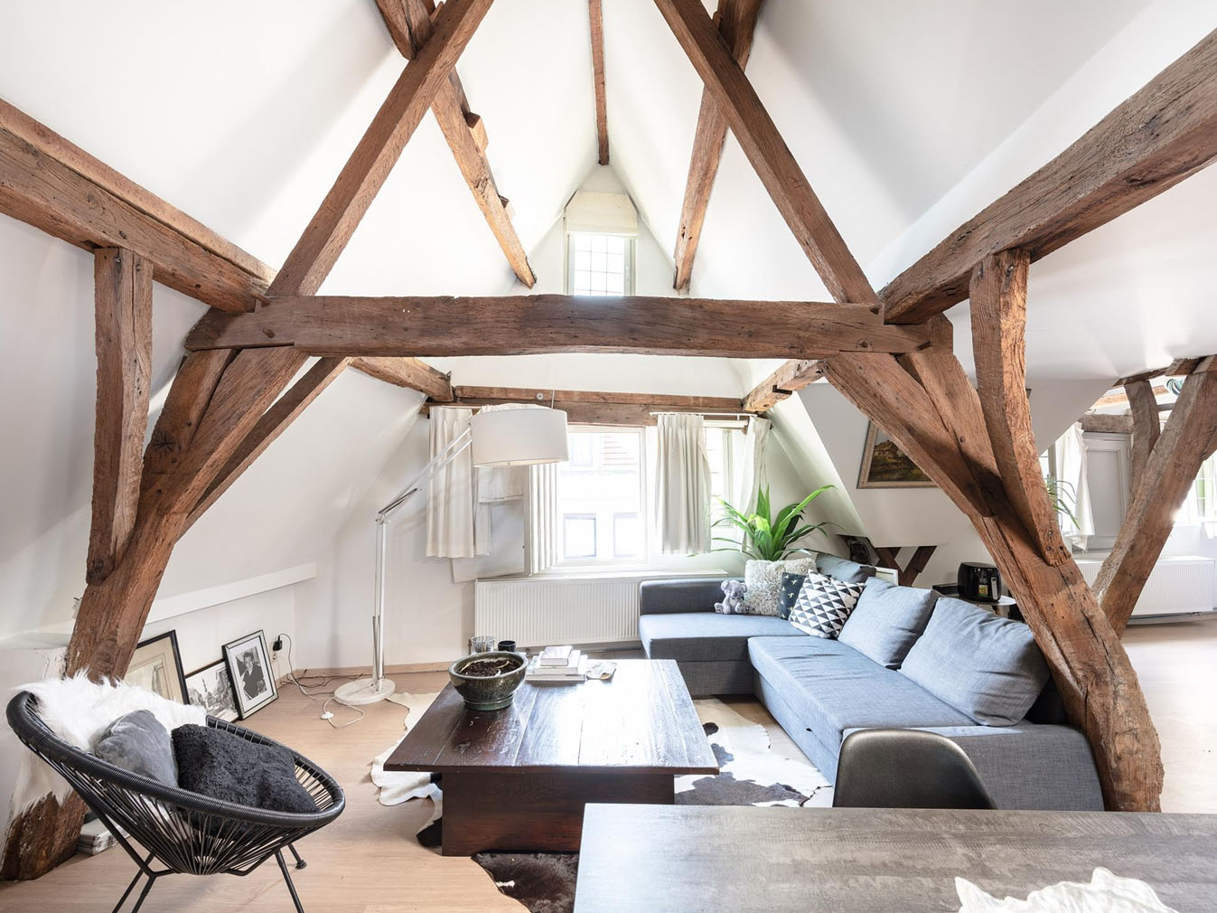 Tour a historic live/work space for sale in central Antwerp