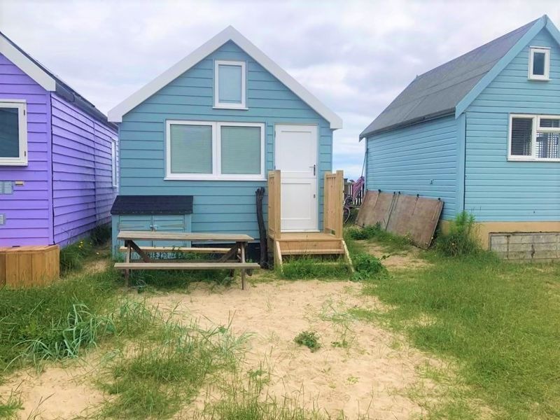 The Mudeford Spit beach hut is one of 10 added in the last 60 years. It's scarcity is said to be responsible for its pricetag