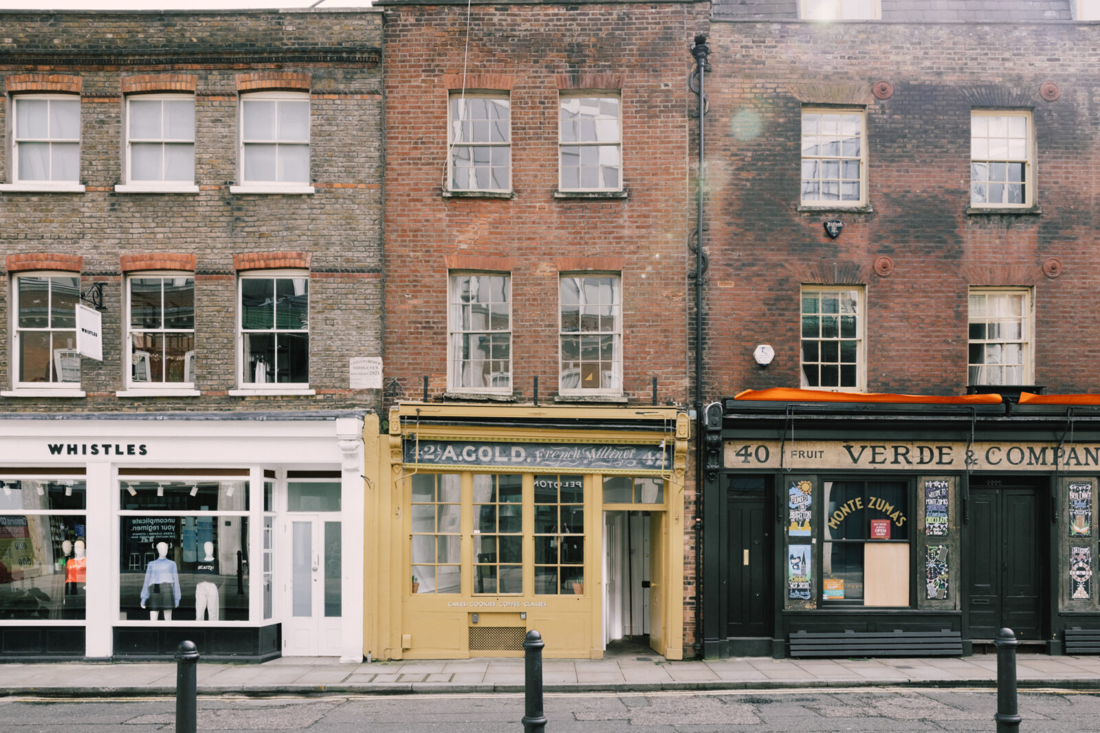 Converted Victorian milliners lists in the heart of London's Spitalfields