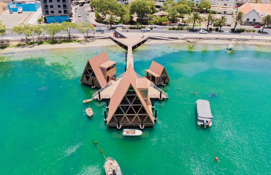 Kunle Adeyemi's Floating Music Hub in Cape Verde is finally complete