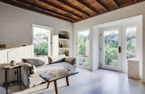 Koya House in LA shows the softer side of minimalism