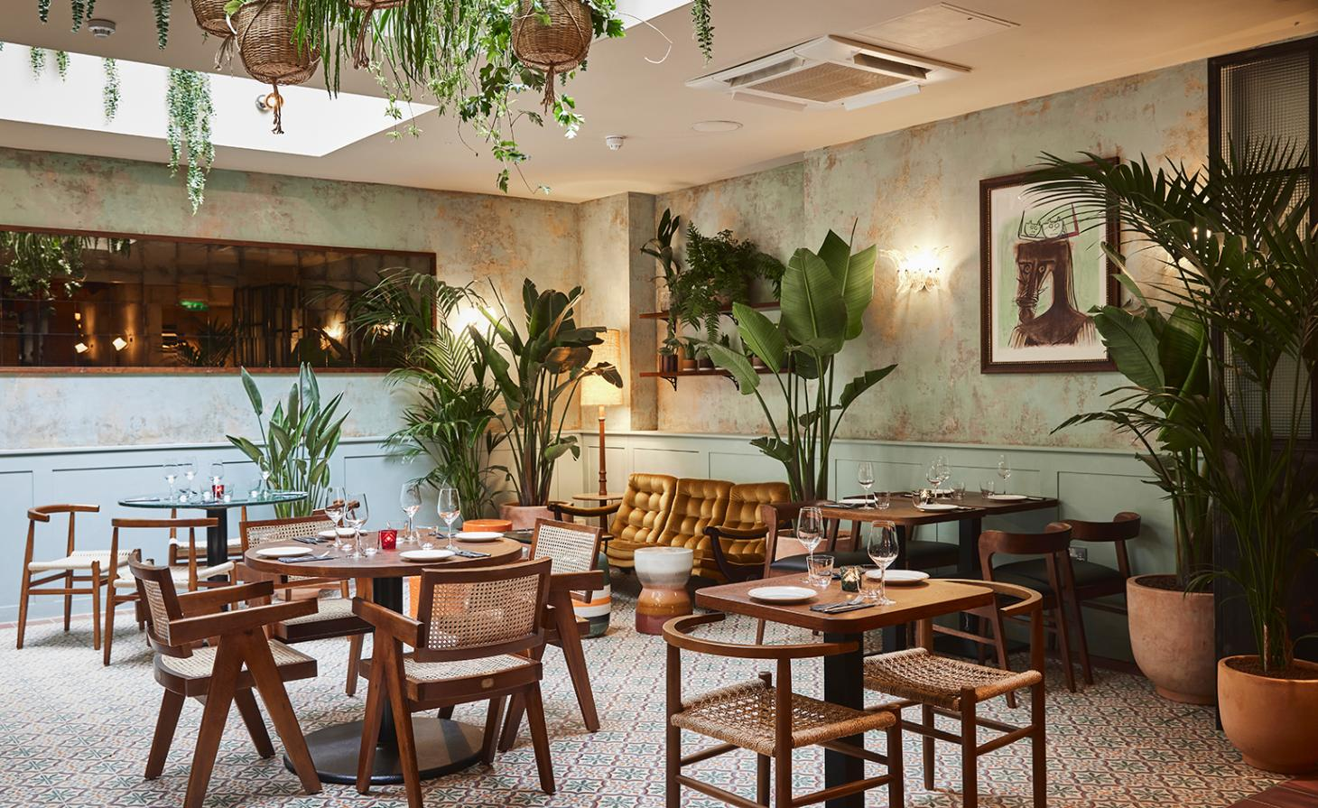 The 'decadence of 1950s Havana' was the catalyst for Bar La Rampa's vintage-tinged interiors.