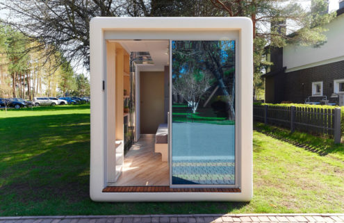 Microhaus is a self-sufficient tiny home that's ready to go in hours