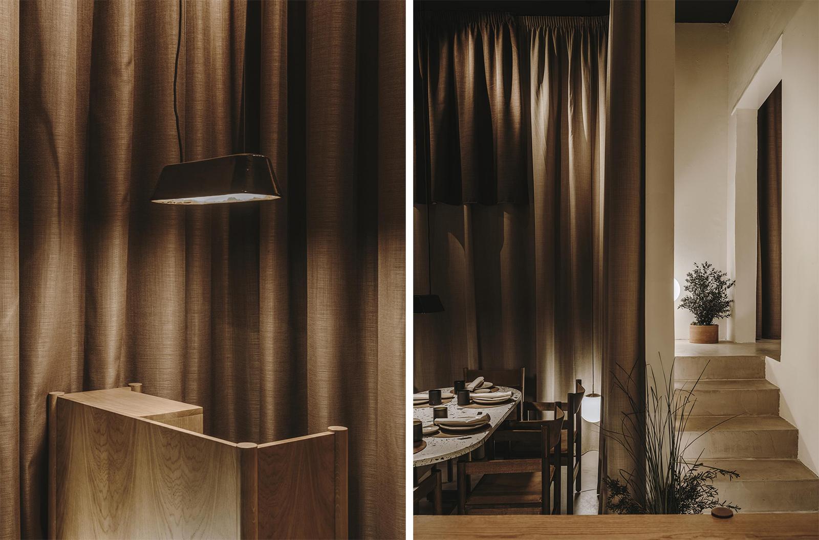New minimalist interiors of 'Normal' restaurant in Girona, Spain