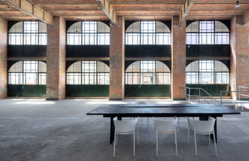 This raw (and rare) brick-vaulted Lisbon warehouse will spark your imagination