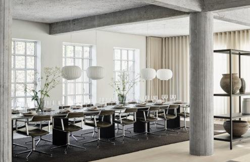 Vipp converts a Copenhagen pencil factory into a supper club