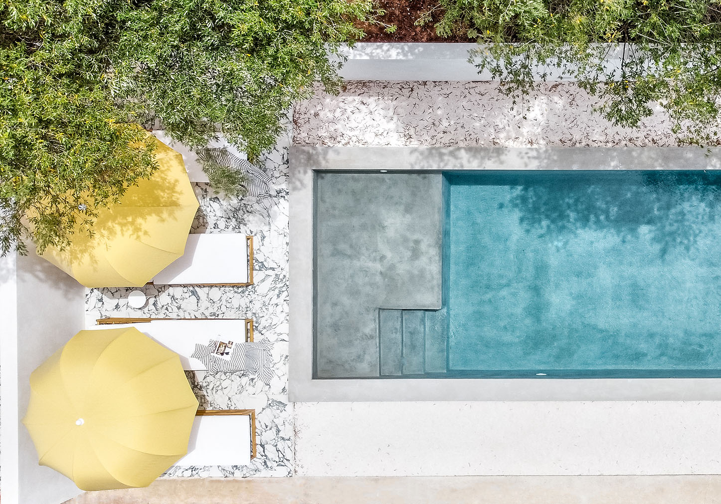 Inside the minimalist interiors of Villa Ostuni in Puglia by Studiotoff