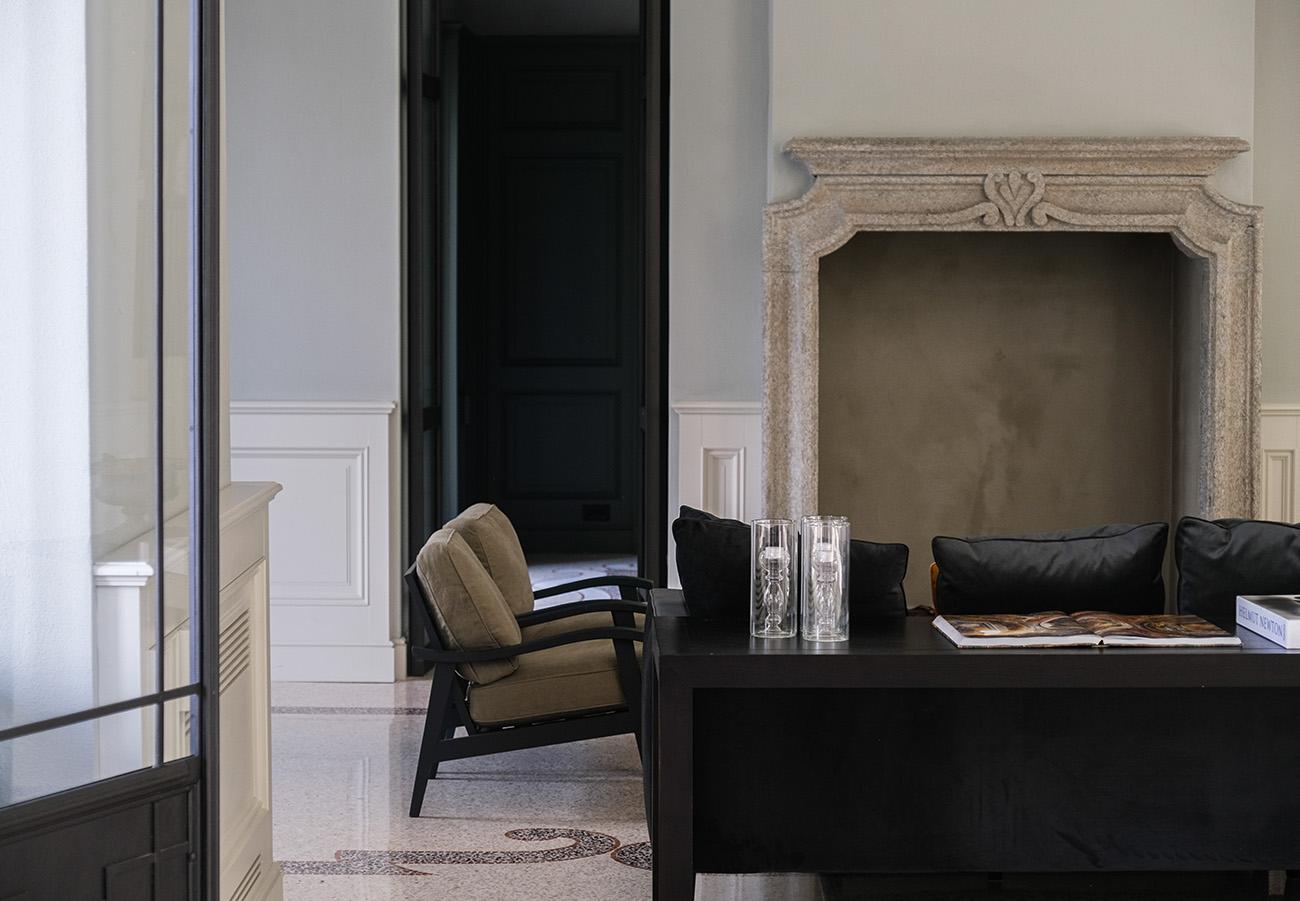 Villa Lario is a freshly revamped hotel on Lake Como, Italy