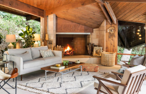 Midcentury house in Topanga State Park on sale for $2.9 million