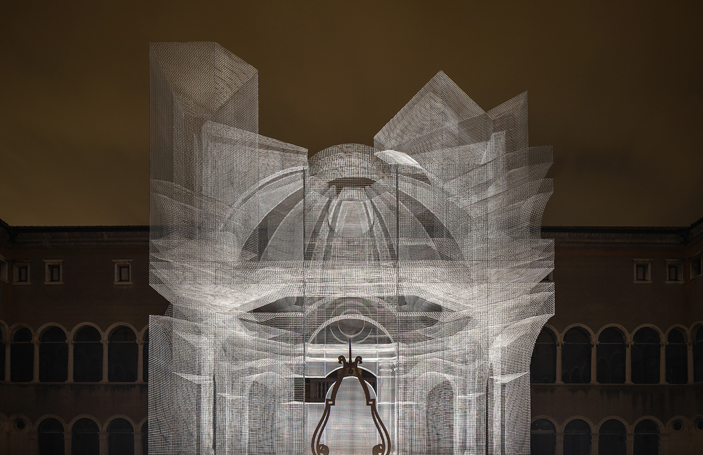Sacral by Edoardo Tresoldi at MAR's Dante: The Eyes and the Mind in Ravenna