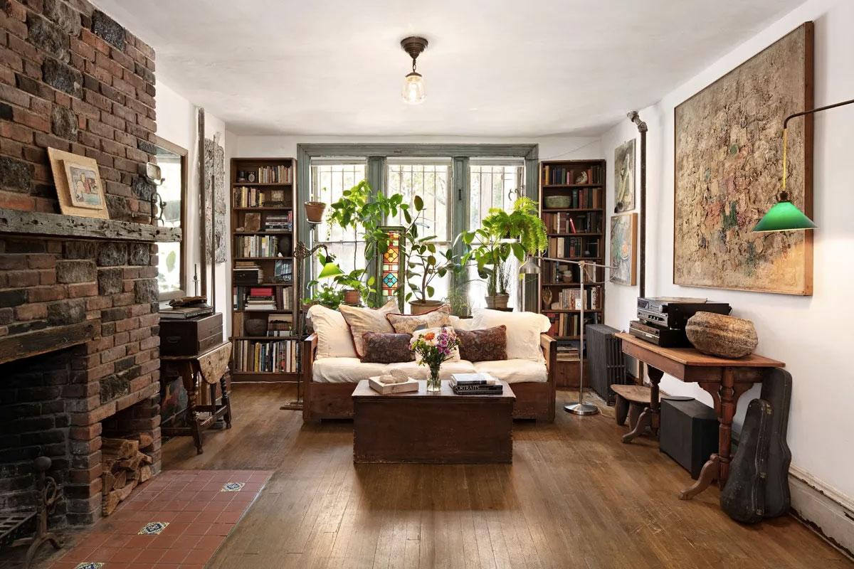 Inside Jay Rosenblume's home at 502 East 11th Street New York