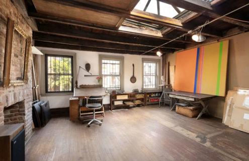 Abstract artist Jay Rosenblum's Manhattan townhouse hits the market