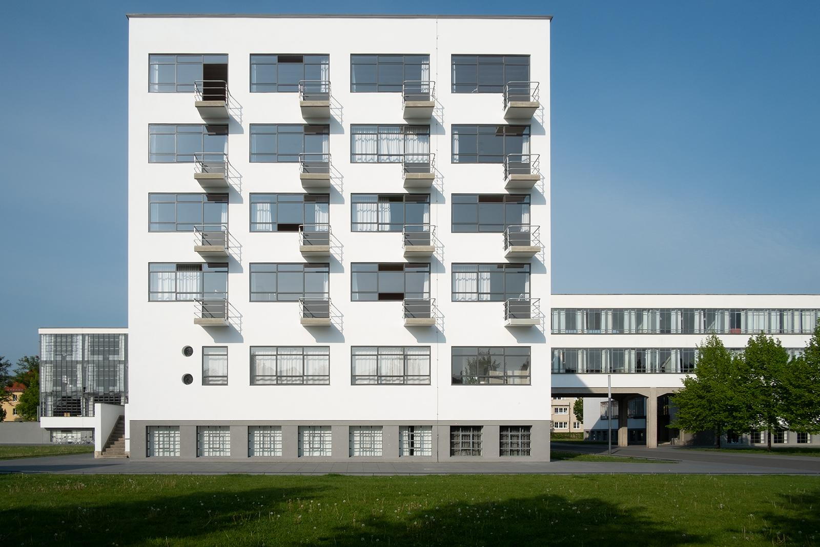 Bauhaus Dorms in Dessau, Germany