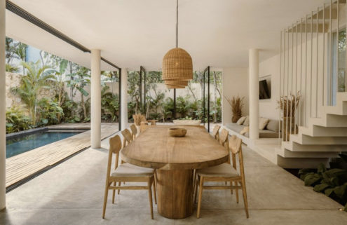 Casa Areca blurs the lines between home and jungle