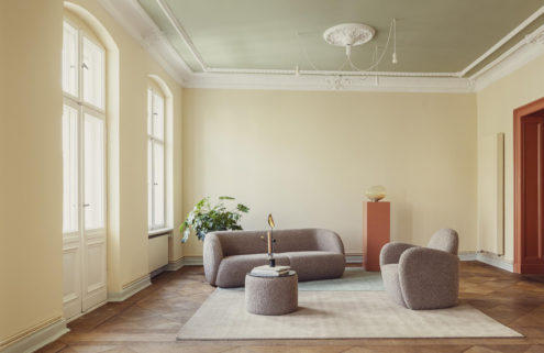 Candy colours give this historic Berlin apartment a joyful feel