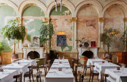 London's Session Arts Club offers fine dining amid faded grandeur
