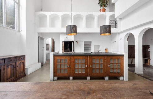 Danish sculptor Axel Poulsen's Charlottenlund home is inspired by the Museo Duomo Opera