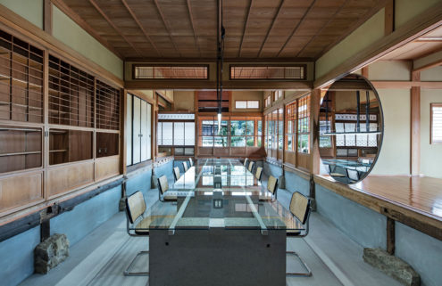 A heritage house in Japan begins a new life as a ceramics showroom