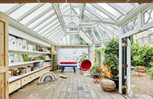 Artist Francesca Anfossi's London home celebrates colourful maximalism