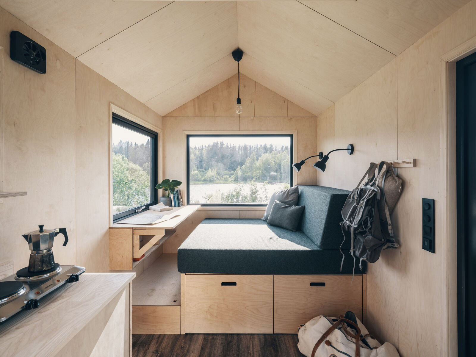 Norske Mikrohus channels Nordic minimalism into tiny home form