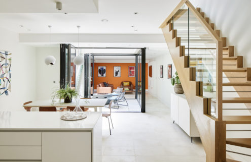 The Victorian terrace gets a rethink at this Battersea Park home