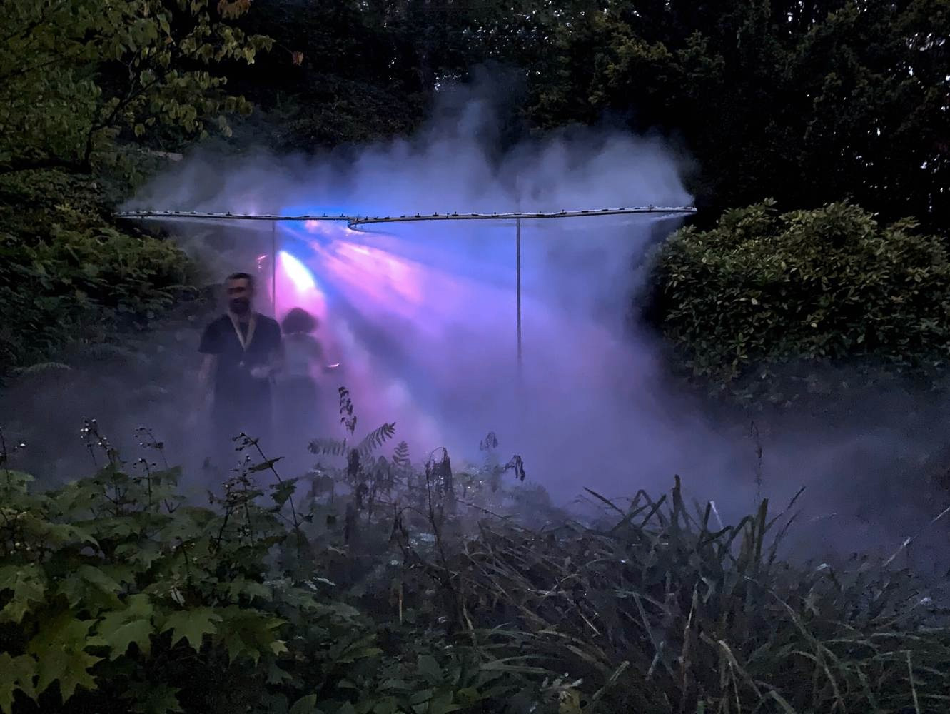 NEBULOSUS botanical garden installation by Authos