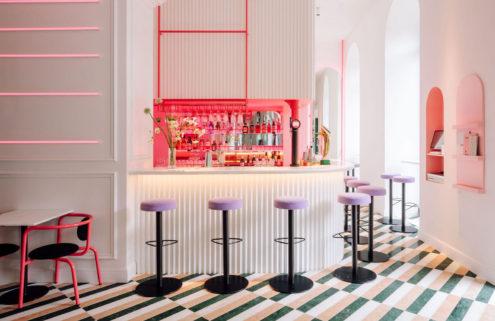 Lisbon's Lulu bar is a neon-tinted wonderland