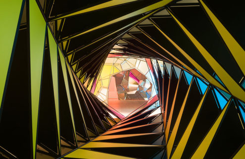 Olafur Eliasson's new artwork takes people inside a kaleidoscope