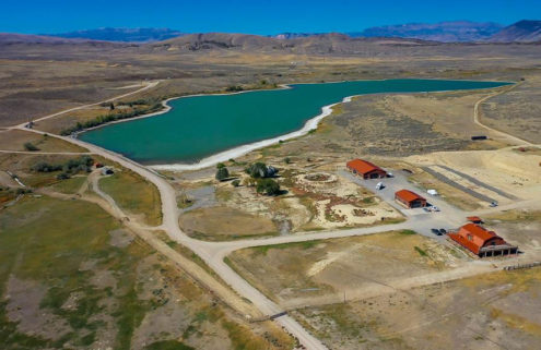 Kanye's Wyoming ranch could be yours for $11m
